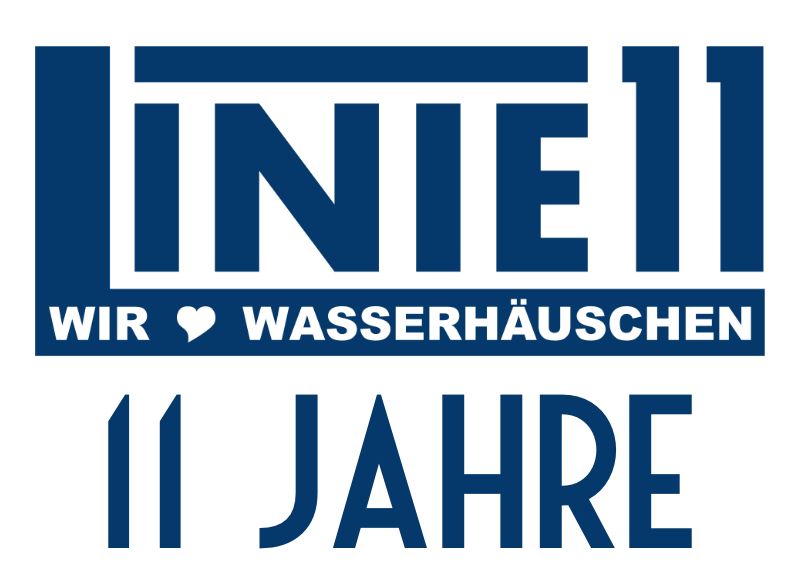 """11 Jahre Linie 11 - """"Print your own bag"""" mit Linie11stoff und Wasserhäuschengebabbel"""